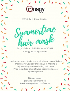 Summertime Hair Mask
